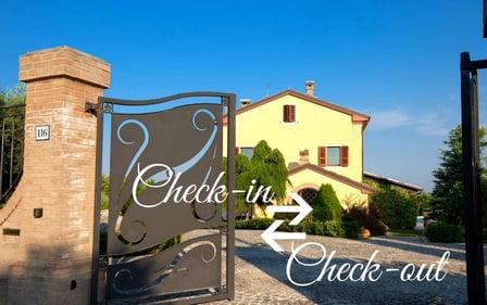 DHvillas-Check-in and check-out at the villa